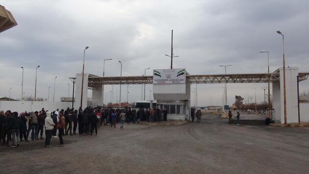 Akçakale Gümrük Kapısı 7 yıl sonra açıldı