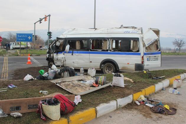 Manisa'da can pazarı! 1 ölü, 24 yaralı...