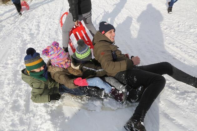 Perşembe Yaylası'nda kış festivali sevinci