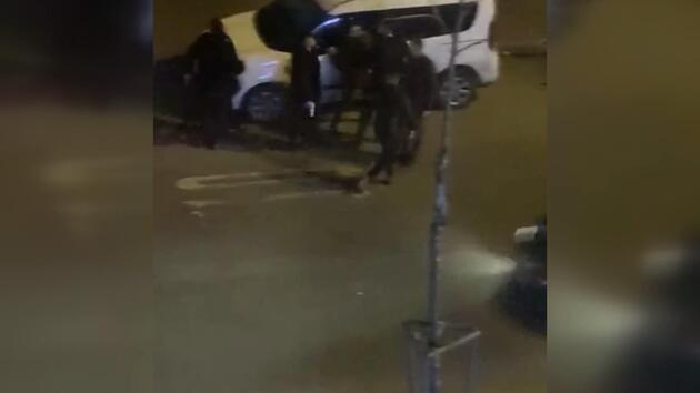 Esenyurt'ta 1 kişinin hayatını kaybettiği kavga kamerada