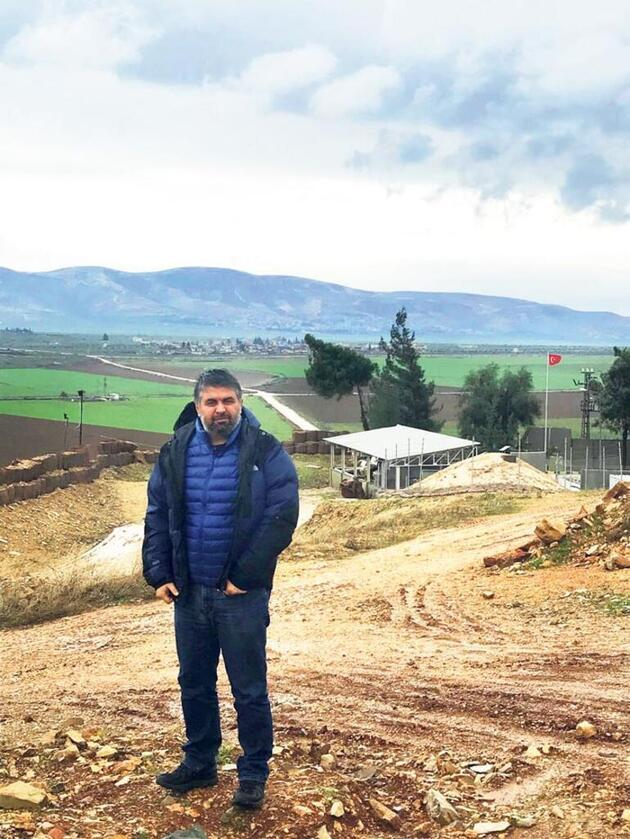 Suriye sınırına akıllı güvenlik
