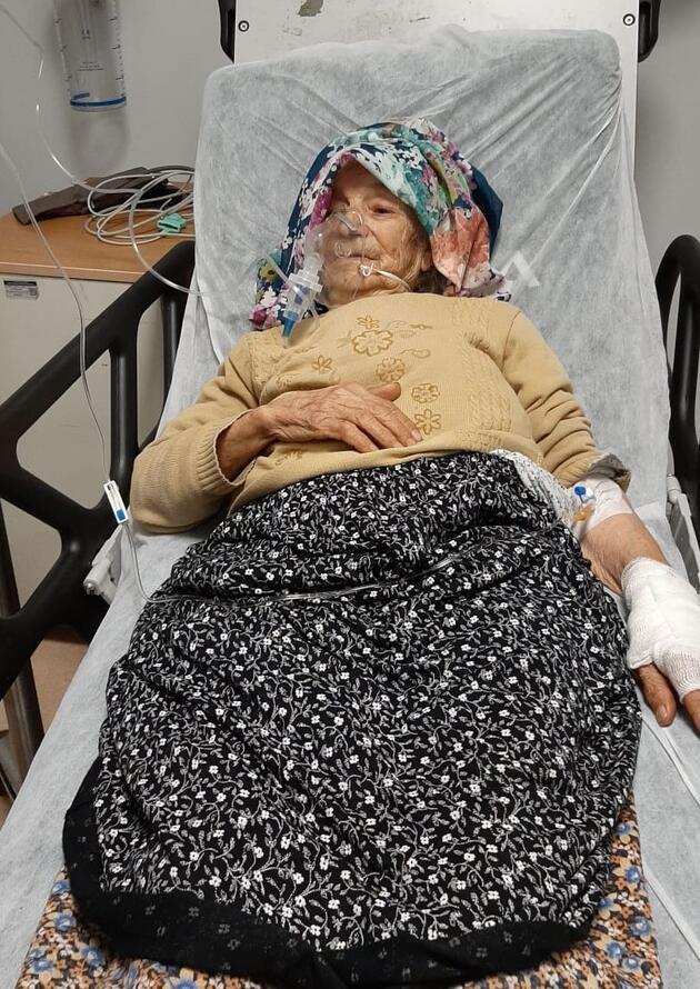 70 yaşındaki karı- koca alevlerin arasından kurtarıldı