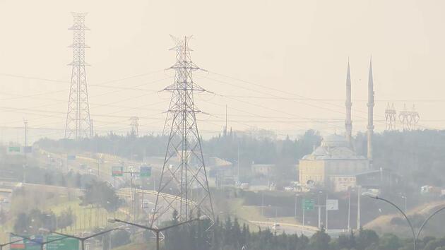 İstanbul'da hava kirliliği üst seviyelerde ölçüldü