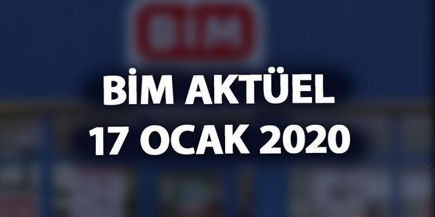 17 Ocak 2020 BİM aktüel kataloğu yayınlandı! İşte cuma BİM indirimleri...