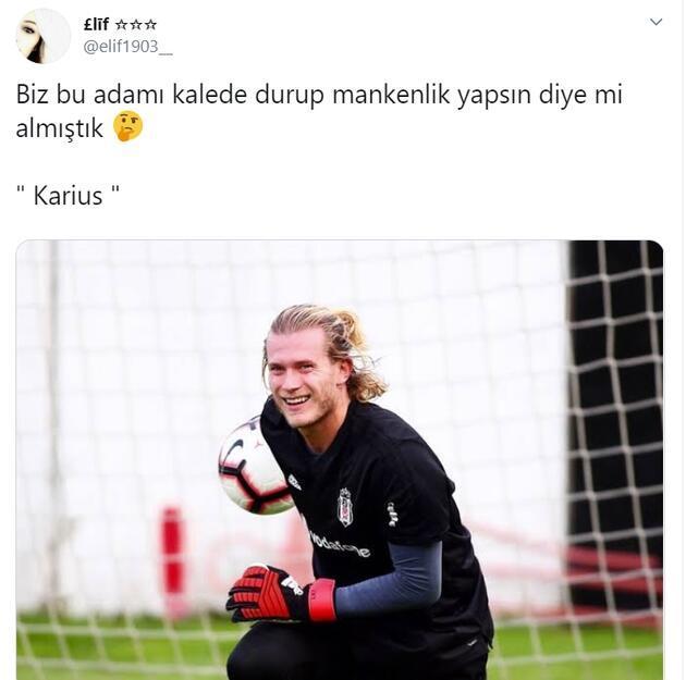 Loris Karius sosyal medyayı salladı