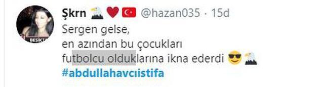 Beşiktaş kaybetti, Sergen Yalçın mesajları yağdı!