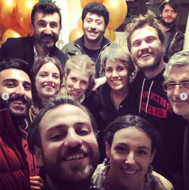 Erkan Kolçak Köstendil ve Cansu Tosun'un doğum gününe ünlüler akın etti