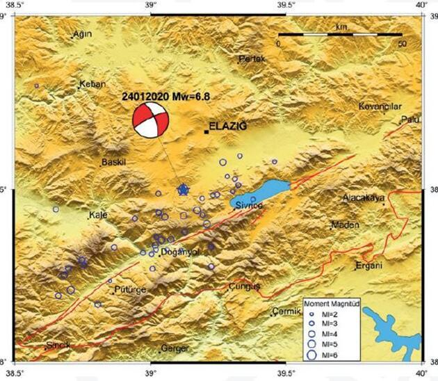 6.8'lik depremin ön inceleme raporu yayımlandı