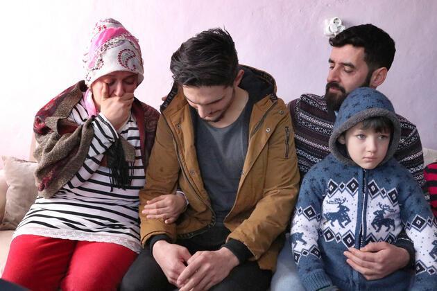 Suriyeli genç enkazdan kurtardığı çiftle böyle buluştu!