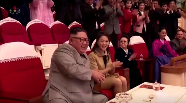 Kuzey Kore liderinin halası 6 yıl sonra ortaya çıktı: Kocasının katiliyle yan yana