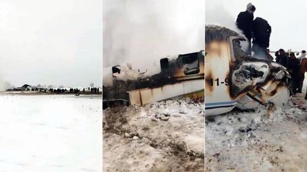 Taliban, ABD askeri uçağını düşürdüğünü duyurdu!