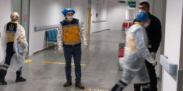Aksaray'da koronavirüsü alarmı! 9'u Çinli 12 kişi hastaneye kaldırıldı