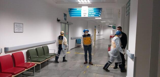 Aksaray'da tedbiren hastaneye kaldırılan 10'u Çinli 12 kişi taburcu edildi