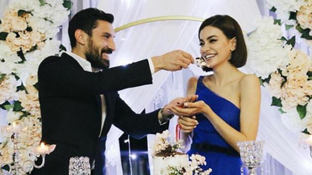 Şilan Makal ile Şener Özbayraklı nişanlandı