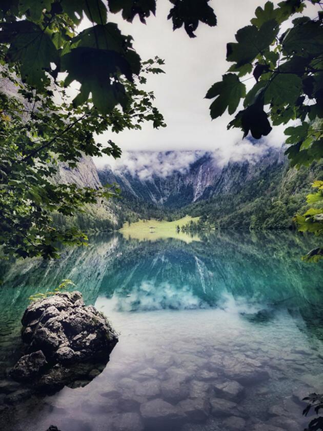 Alp Dağları'nın içine gizlenmiş saklı cennet: Obersee