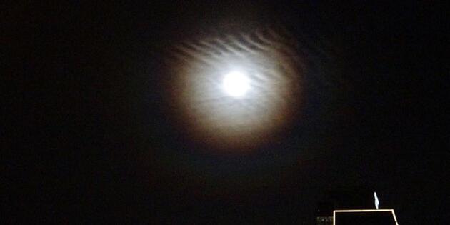 İstanbul'da Süper Ay böyle görüntülendi
