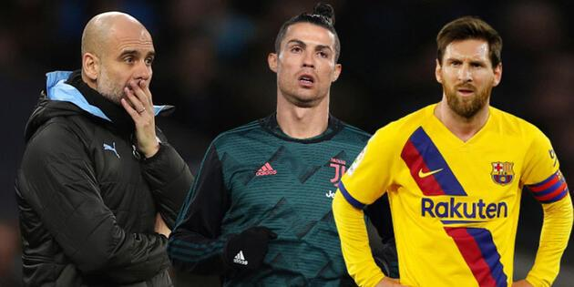 Juventus için flaş iddia! Ronaldo-Messi ve Guardiola
