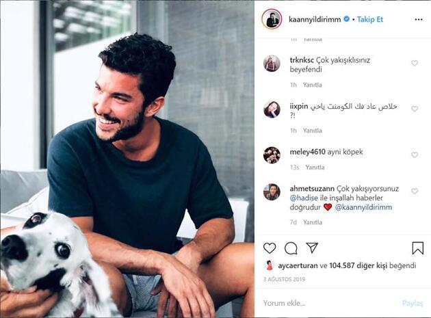 Hadise'nin o paylaşımı sürpriz aşkı ele verdi