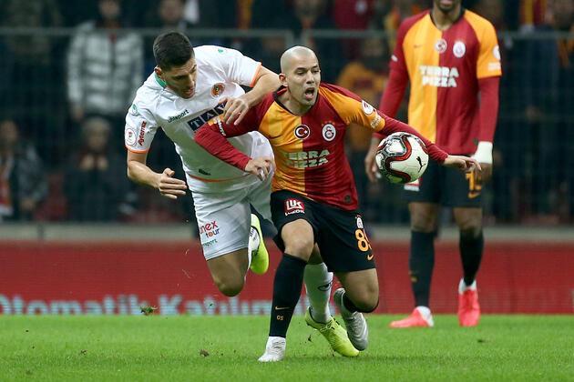 Galatasaray'a 3 gol yetmedi