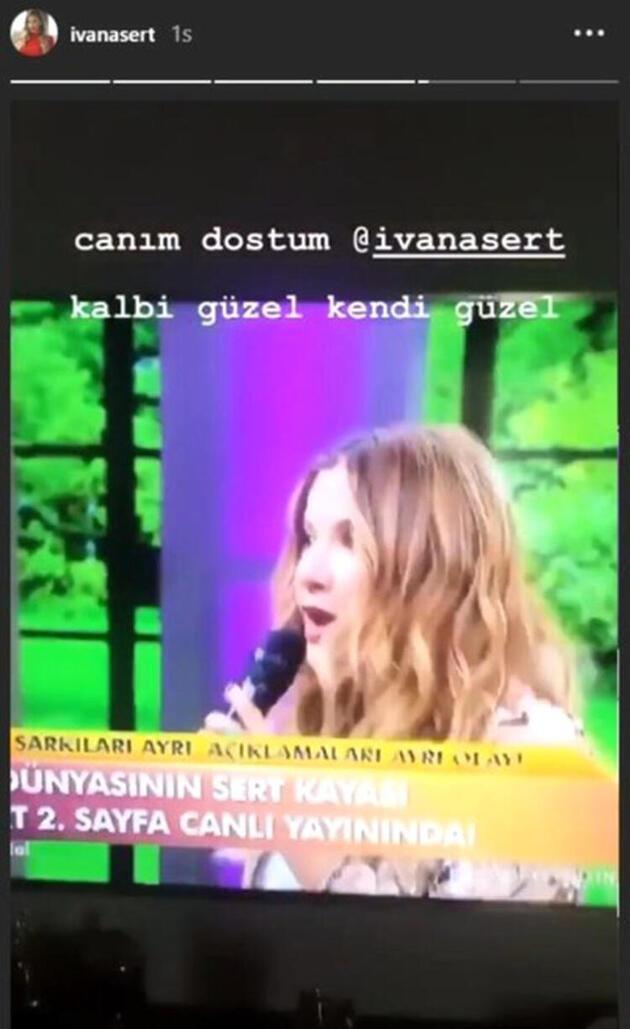 Ivana Sert sosyal medyanın diline düştü!