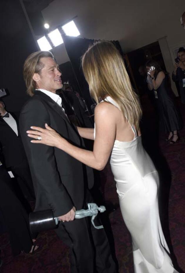 Jennifer Aniston'a göre Brad Pitt'le olan aşkı yaşandı ve bitti