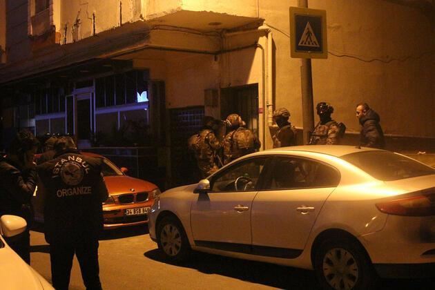 İstanbul'da silahlı suç örgütüne şafak operasyonu: Yakup Süt gözaltına alındı