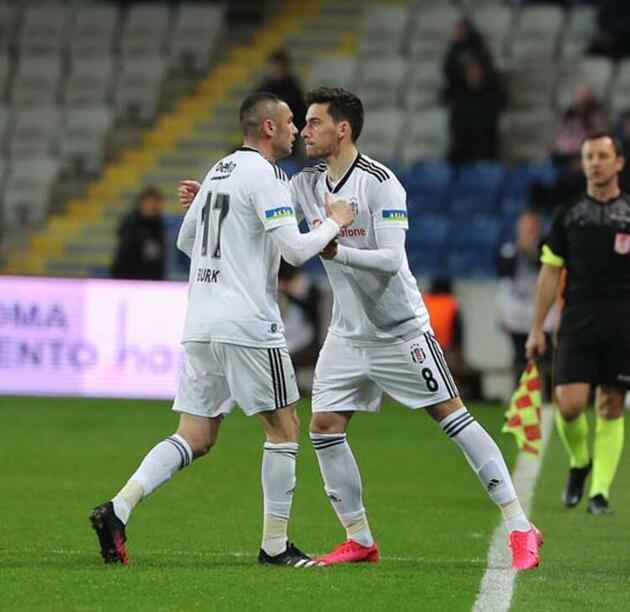 Başakşehir yenilgisi sonrası Beşiktaş'ta Burak krizi