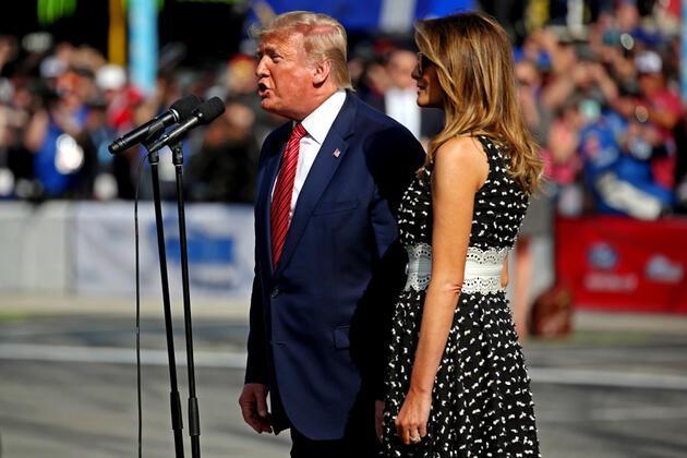 Trump'ın bu anları gündem oldu: ABD tarihinde ikinci kez gerçekleşti!