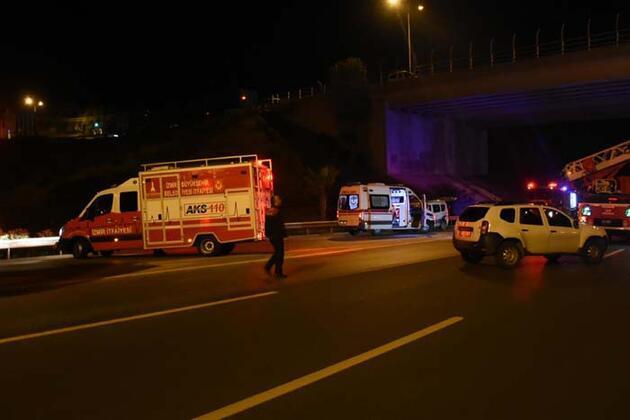 Köprüde intihara kalkıştı, 1 saatte ikna edildi