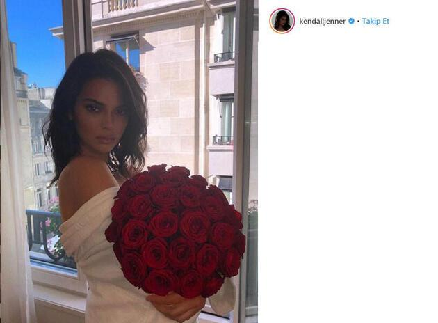 Kendall Jenner'ın paylaşımı gündem oldu