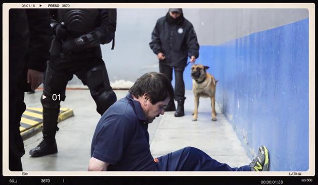 El Chapo'nun ilk kez yayınlanan görüntüleri: Saçları traş edildi, bıyığı kesildi!