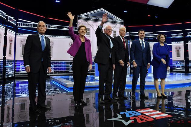 ABD'de adaylar canlı yayında karşı karşıya geldi: Bloomberg'in sözleri olay oldu!