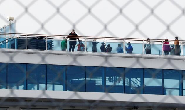 Karantinadaki gemiden kötü haber: 2 yolcu hayatını kaybetti!