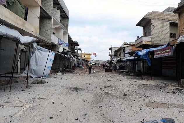 60 bin nüfuslu Al Atarib, hayalet kasabaya döndü