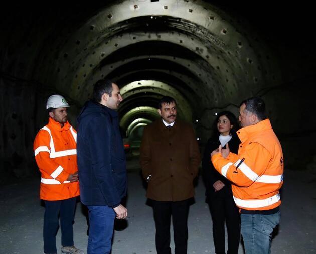 Türkiye'nin en tehlikeli yollarından Kırkdilim Geçidi'nde ulaşımı rahatlatacak projede sona geliniyor