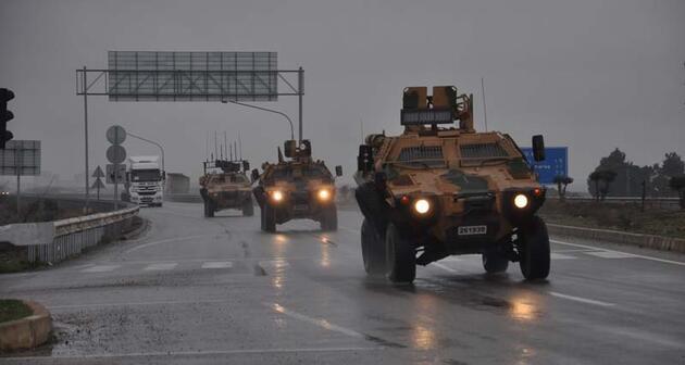 Suriye'ye tank sevkiyatı