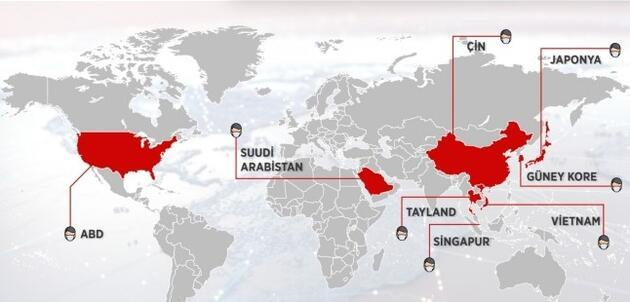 Koronavirüs hangi ülkelerde görüldü?