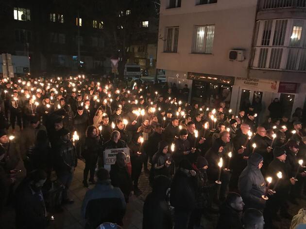 Bulgaristan'da tepki çeken yürüyüş