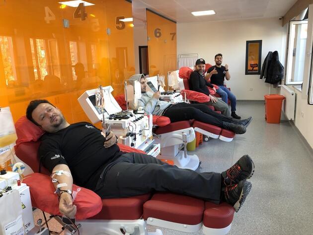 Lösemili çocuklar için trombosit kan bağışı kampanyası gerçekleşti