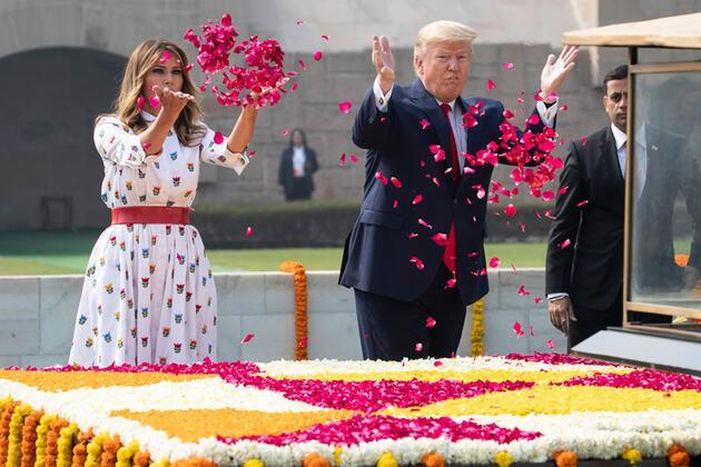 Trump'ın Hindistan ziyareti gündem oldu