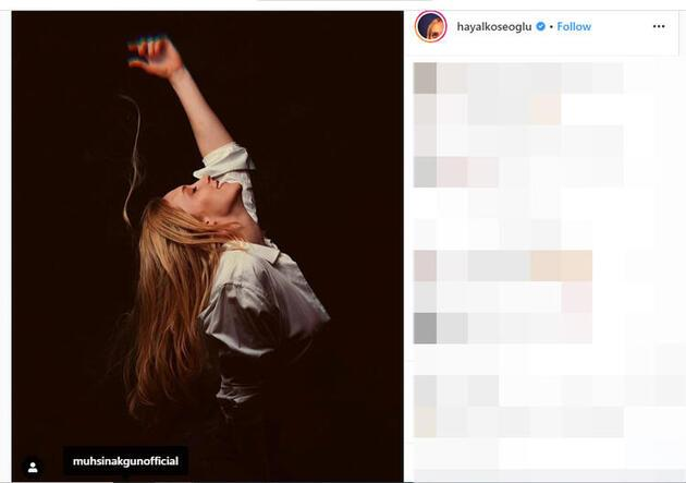Hayal Köseoğlu Instagram'ı salladı