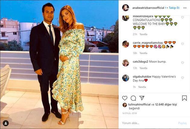 Ana Beatriz Barros ikinci kez anne oldu