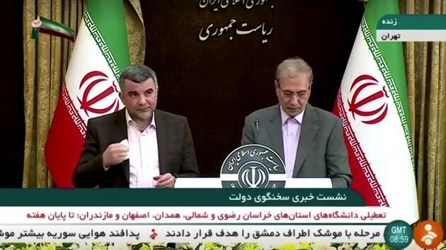 Virüse yakalanan İranlı Bakan Yardımcısı'nın görüntüleri sosyal medyada gündem oldu