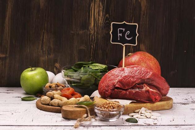 Kansızlık belirtileri nelerdir? İşte kansızlığa iyi gelen besinler
