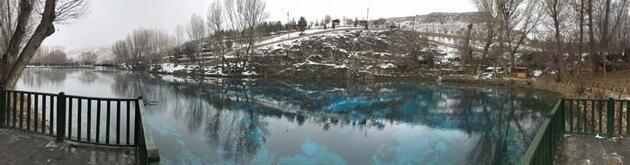 Sivas'ın kışın donmayan tek gölü