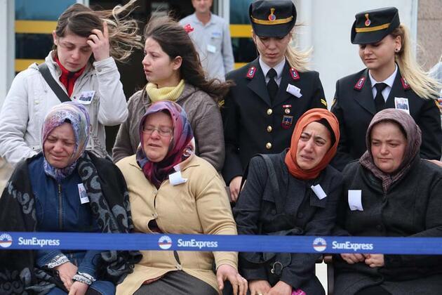 Şehit uzman onbaşının cenazesi Samsun'a getirildi