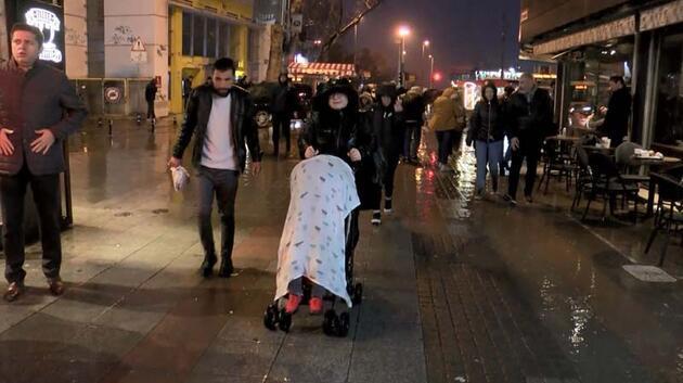 İstanbul'da sağanak yağış etkili oldu!