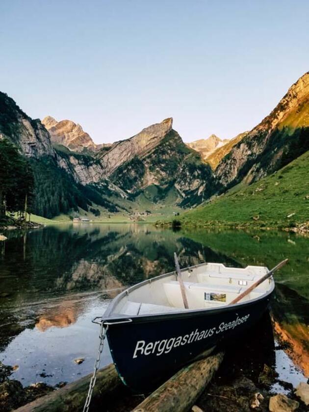 Manzarası inanılmaz! Seealpsee Gölü hayran bırakıyor