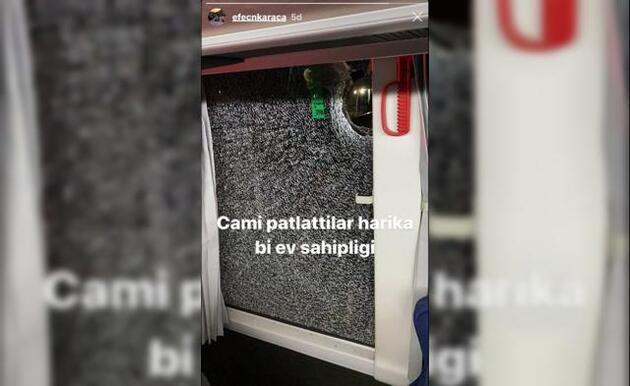 Alanyaspor otobüsüne Antalya'da taşlı saldırı!