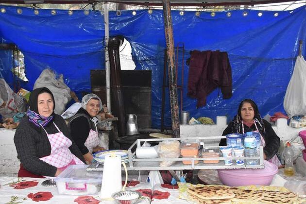 Bu pazarın esnafı kadınlar
